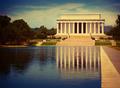 Abraham Lincoln Memorial reflection pool Washington - PhotoDune Item for Sale