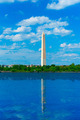 Washington Monument reflected in Tidal Basin DC - PhotoDune Item for Sale