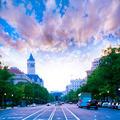 Pennsylvania Avenue sunset in Washington DC - PhotoDune Item for Sale
