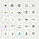Set of Secure Icons - GraphicRiver Item for Sale