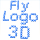 Fly Logo 3D - ActiveDen Item for Sale