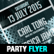 Minimal Party Flyer / Poster Template