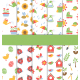 Set of Ten 10 Seamless Spring Patterns - GraphicRiver Item for Sale