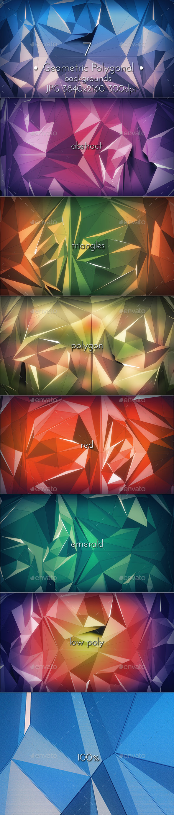 GraphicRiver Geometric Polygonal Triangles 10581696