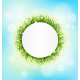 Circle Frame with Green Grass - GraphicRiver Item for Sale