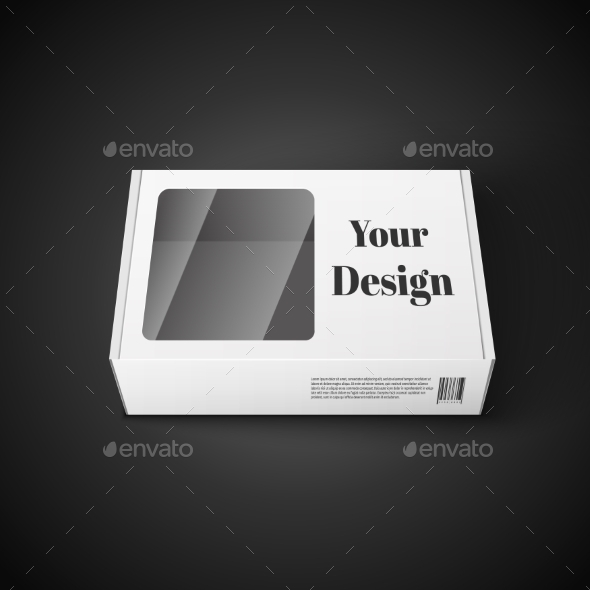GraphicRiver White Package 10582443