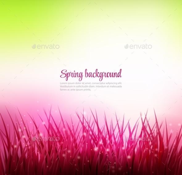 GraphicRiver Grass Background 10582590