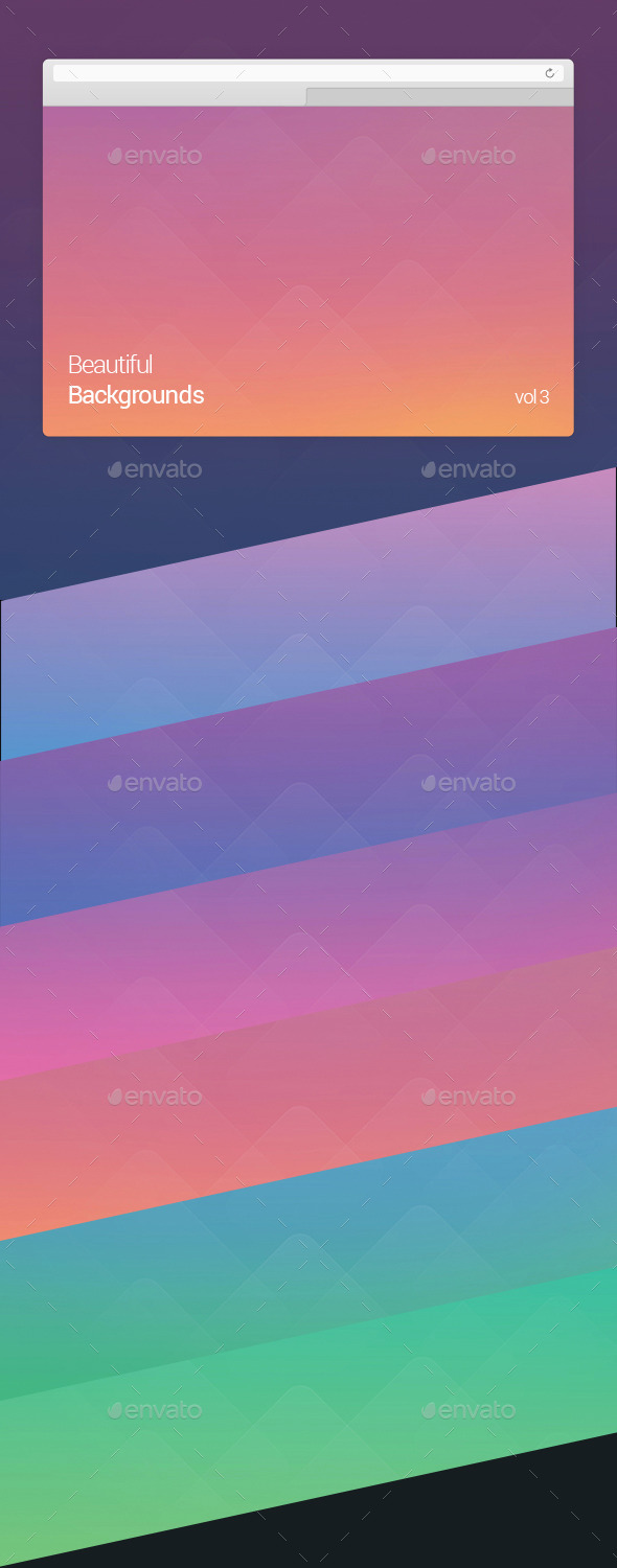 GraphicRiver Beautiful Backgrounds Vol 3 10582594