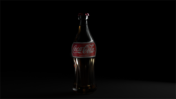 3DOcean Coca-Cola bottle 10583001