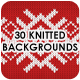 30 Knitted Backgrounds