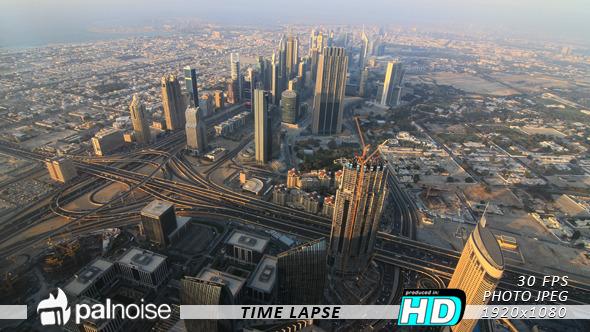 Dubai Cityscape Skyline Day