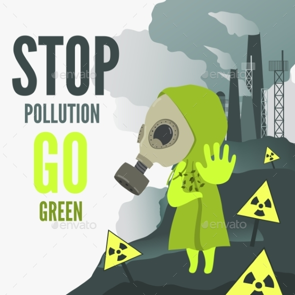 GraphicRiver Stop Environmental Pollution 10583404
