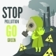 Stop Environmental Pollution - GraphicRiver Item for Sale