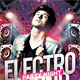 Electro Sound Party Flyer Template - GraphicRiver Item for Sale