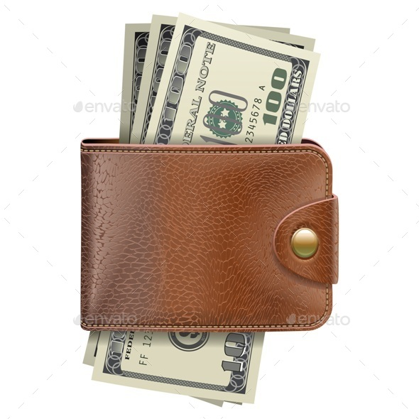 GraphicRiver Wallet with Money 10583464