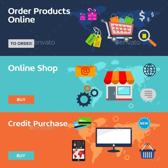 GraphicRiver Concepts for E-Commerce 10583495