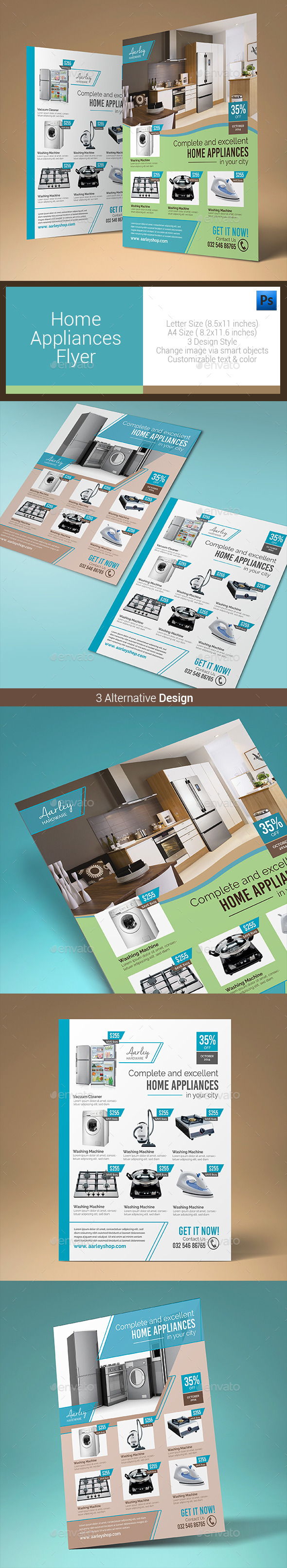 GraphicRiver Home Appliances Flyer 10583837