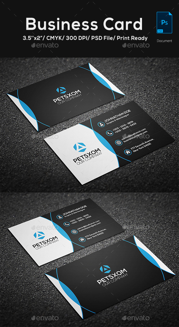 GraphicRiver Modern Business Card Vol 5 10583980