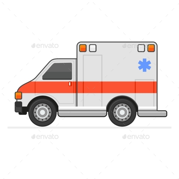 GraphicRiver Ambulance 10583992