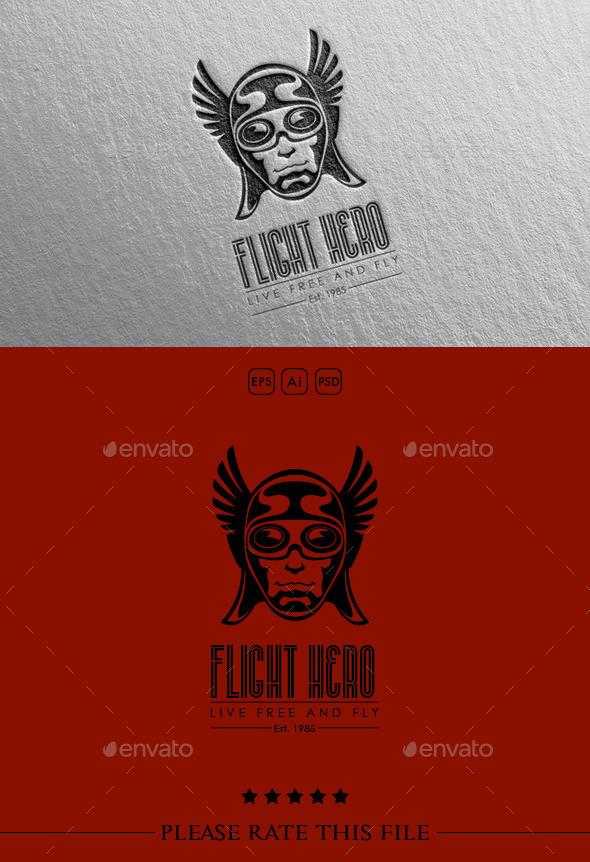GraphicRiver Wings Hero Logo 10584057