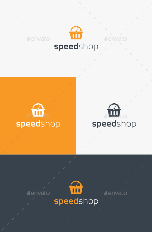 GraphicRiver Speed Shop Logo Template 10535258