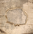 Abstract grunge wall background with paper hole in the middle - PhotoDune Item for Sale