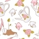 Gardening Seamless Pattern - GraphicRiver Item for Sale