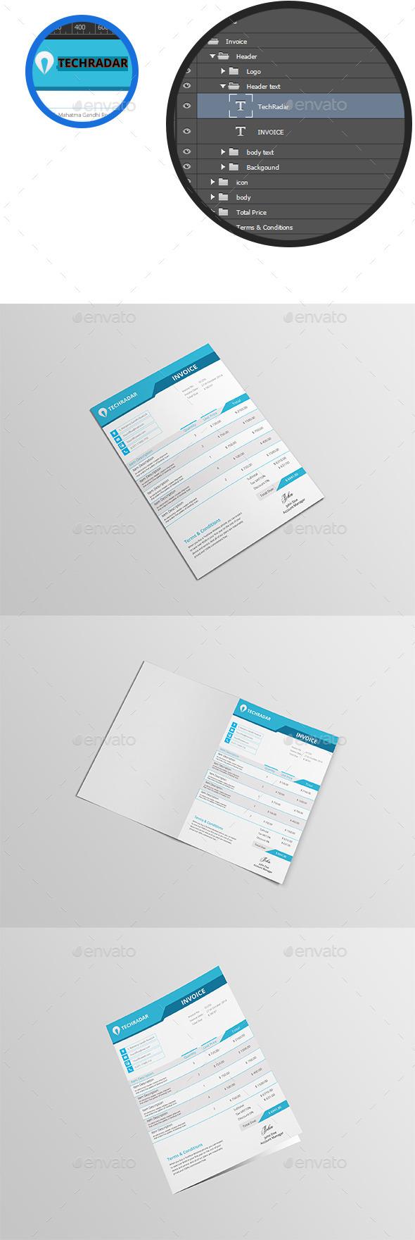 GraphicRiver Invoice Template 10521636
