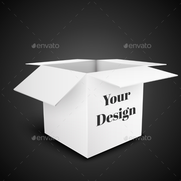 GraphicRiver White Box 10585856