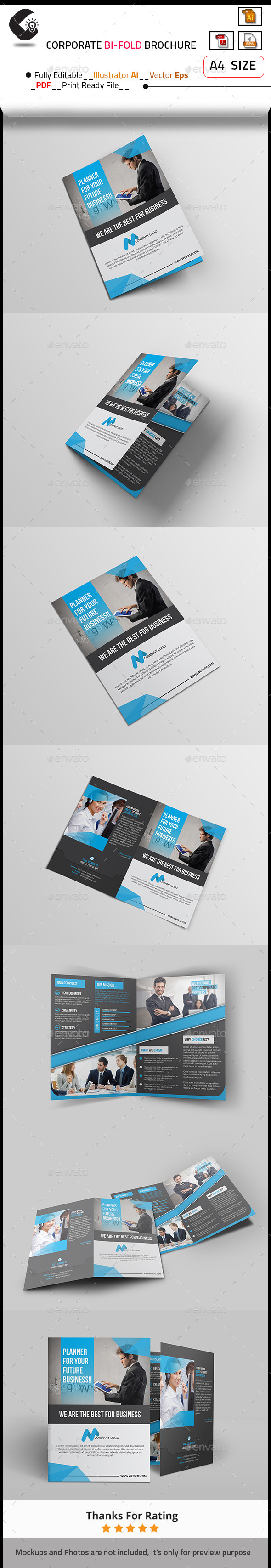 GraphicRiver Corporate Brochure 10585875