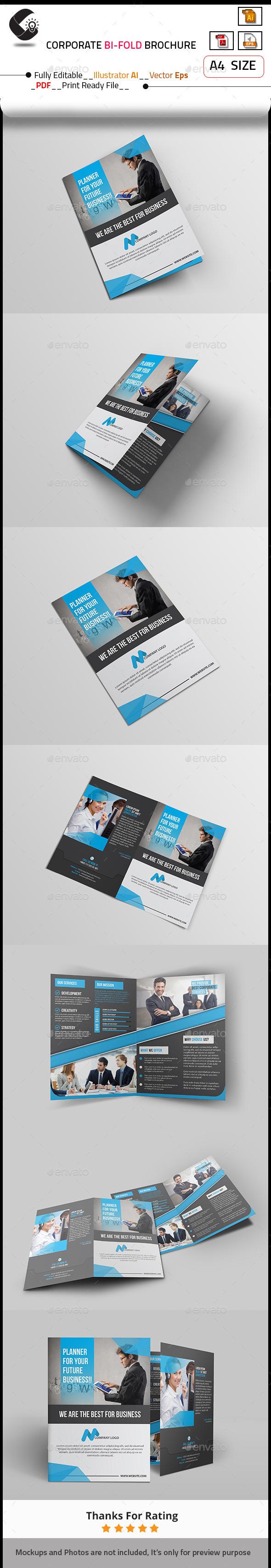 GraphicRiver Corporate Brochure 10585875