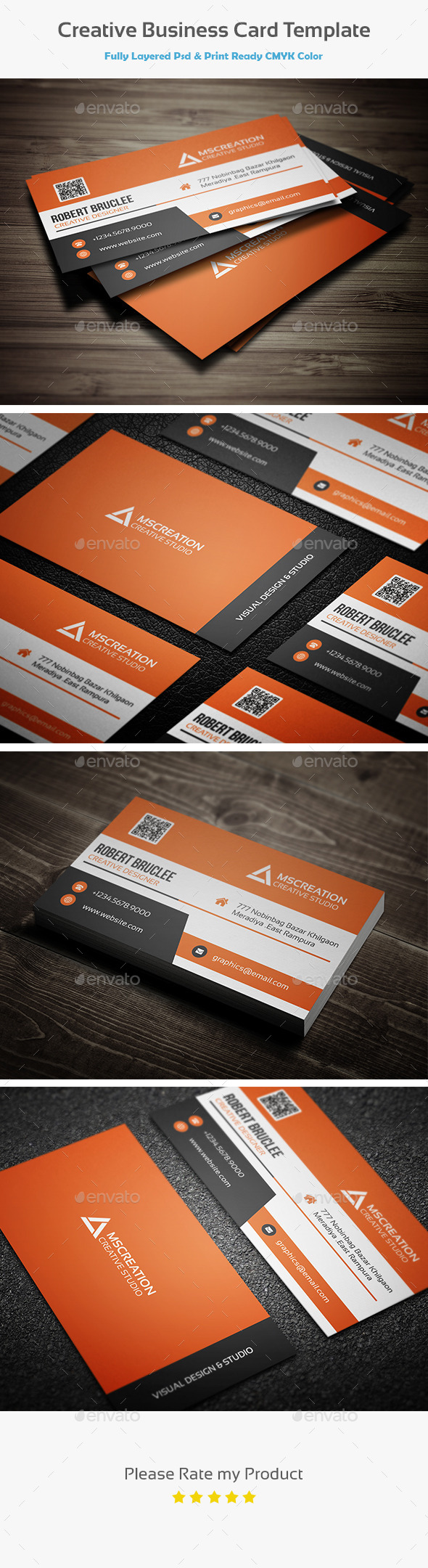 GraphicRiver Creative Business Card Template 10585907