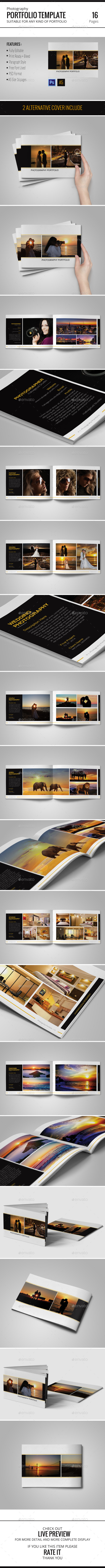 GraphicRiver Photography Portfolio Template 10525894