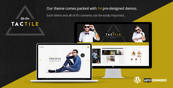 Tactile – Modern and Sharp Multi Concept Theme