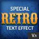 10 Retro Text Effect v.1 - GraphicRiver Item for Sale