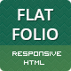 FLATFOLIO - Premium Portfolio & Agency HTML Theme - ThemeForest Item for Sale