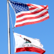 Calirofnia & USA Flag - VideoHive Item for Sale