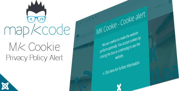 CodeCanyon MK Cookie Privacy Policy Alert for Joomla 10522818