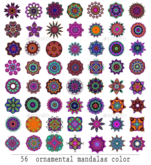 GraphicRiver Mandalas 10588020