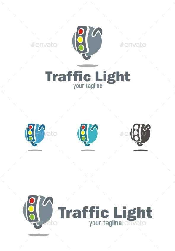 GraphicRiver Traffic Light Logo 10524724