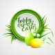 Easter Card with Eggs and Flowers - GraphicRiver Item for Sale