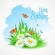 Spring Greeting Card with Daisies - GraphicRiver Item for Sale