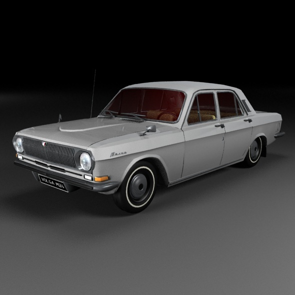 GAZ 2410 Volga  - 3DOcean Item for Sale