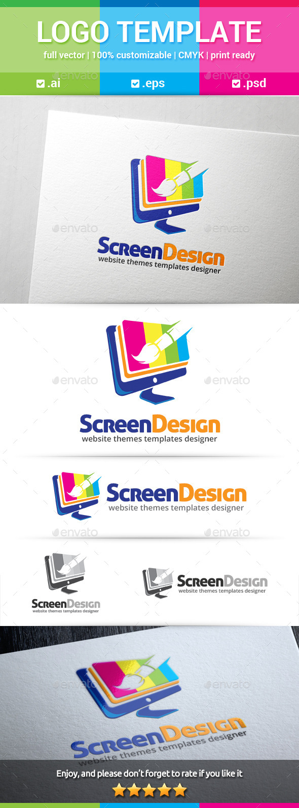 GraphicRiver Screen Design Logo 10588321