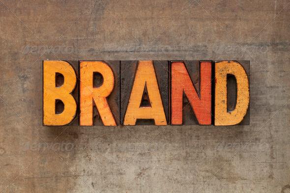 PhotoDune brand word in letterpress type 1068006