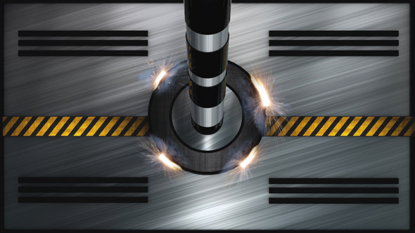 VideoHive Robotic Door Transition 10589325