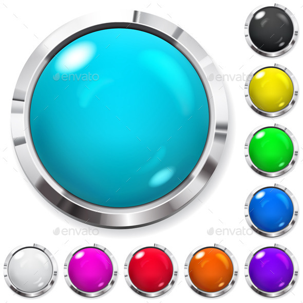 GraphicRiver Set of Colored Buttons 10589711