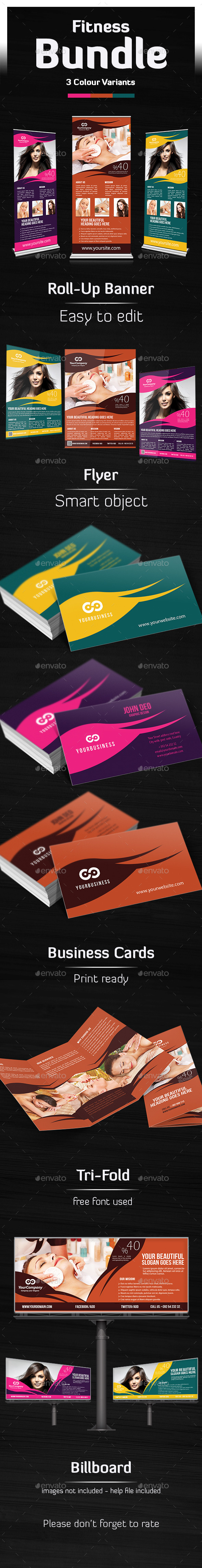 Hair & Beauty Salon Bundle Templates
