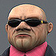 Man Security Gangster - 3DOcean Item for Sale