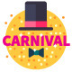 Carnival Flat Icon Set - GraphicRiver Item for Sale